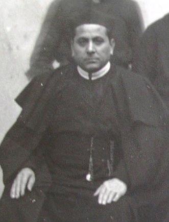 P. Giovanni Adamo, redentorista originario di Albano Lucano (PZ), zelante missionarioe affettuoso confratello in una foto del 1929. Morì a Francavilla Fontana (BR) nel 1935.