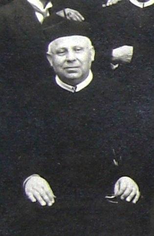 P. Gerardo Biscotti, nativo di Ascoli Satriano (FG), in una foto del 1915. Fu educatore dei giovani novizi della nostra Congregazione, e ricopri più volte la carica di Rettore.