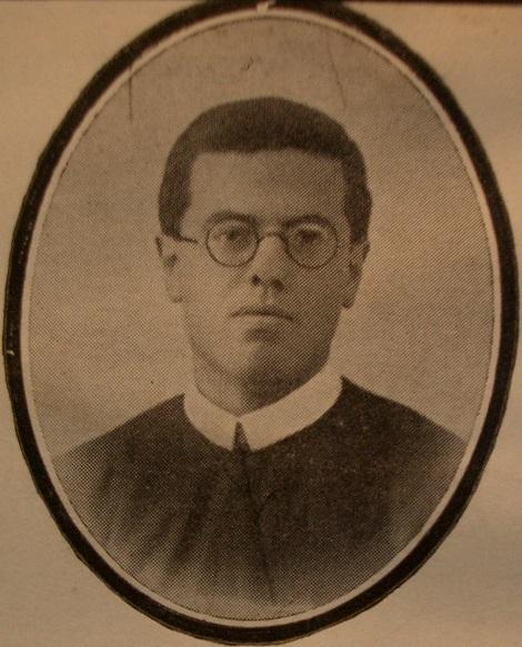P. Giovanni Calabrese, redentorista morto a soli 29 anni. Nativo di Pagani, era di sede a Lettere (NA) dove da quattro anni insegnava alle classi ginnasiali dei piccoli aspiranti redentoristi.