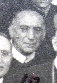 Immagine del P. Luigi De Lucia, originario di S. Maria a Vico (CE), estratta da una foto di gruppo nel 1915. Morì a Ciorani (SA) nel 1935