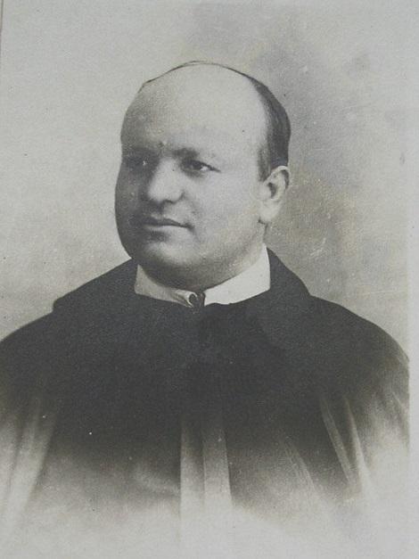 Ritratto fotografico di P. Giuseppe De Tilla, originario di Montagano (CB) e attivo amministratore delle Case redentoriste affidate alla sua cura.