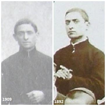 Due immagini del Fratello Achille Mancino, redentorista nativo di Angri (SA), fu sempre paziente nei dolori della vita, umile e caritatevole. Nel 1892 era novizio.