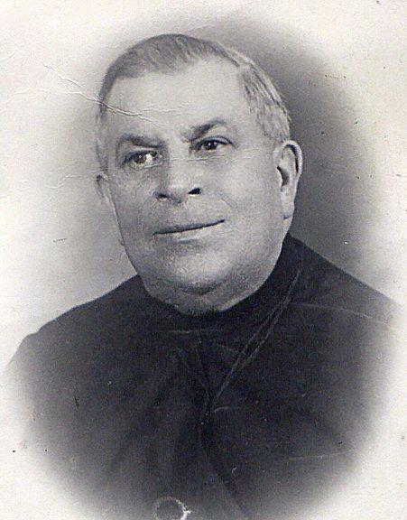 Ritratto fotografico del Fratello Gioacchino Giuseppe Pozzuoli, originario di Arpino (FR) e vissuto nel servizio della Casa Generalizia per 50 anni, dei quali 36 come cuoco (foto in AGR).