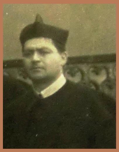 P. Nicola Saldutti, originario di Castelfranci (AV) in una foto prima del 1934, anno in cui morì ad Avellino.