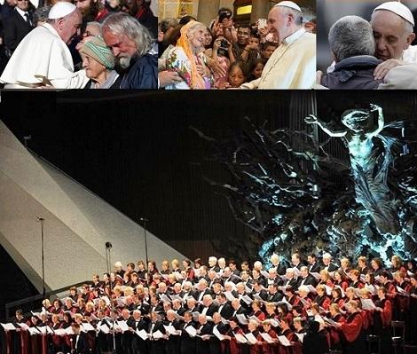 Papa Francesco, con rara sensibilità, ha voluto offrire ai poveri la possibilità di una ascensione dell'anima e dell'intera persona attraverso la bellezza di un grande Concerto, organizzato per loro