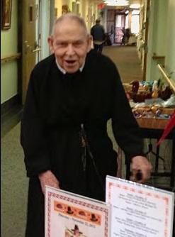 Il redentorista Fratello Martin (Raymond) Temple (1923-2014) della Provincia di Denver negli USA.