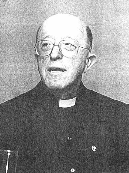 Il redentorista P. Louis Vereecke nel 1988: della Provincia di Lyon-Paris, Francia, professore all'Accademia Alfonsiana in Roma.