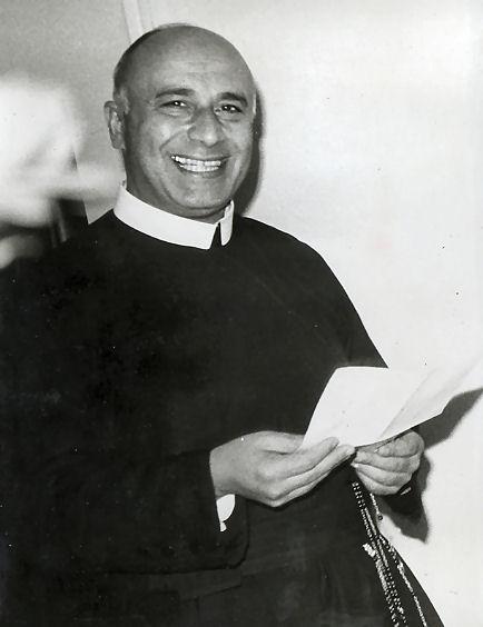 Il redentorista P. Santino Raponi, della Provincia di Roma in Italia, professore all'Accademia Alfonsiana in Roma.