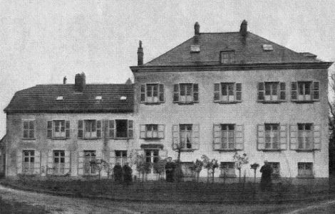 La Casa redentorista di Rumillies (Belgio). Qui nel 1906 morì il P. Léon Lamblin. Ma forse la Casa era stata chiusa nel 1885.