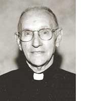Il redentorista P. Bernard Baumgartner (1917-2006) della Provincia di Baltimora negli Stati Uniti.