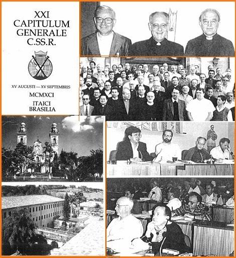 Questo numero 86 documenta in otto pagine con testi e foto i principale eventi del XXI Capitolo Generale CSSR celebrato a Itaici, Brasile dal 15 agosto al 15 settembre 1991.