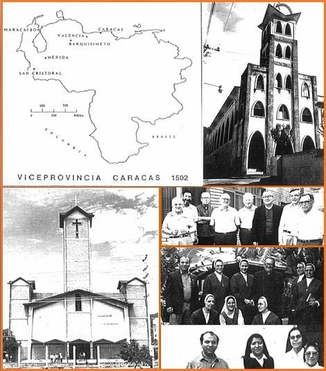 Questo numero 89 documenta in quattro pagine con testi e foto la storia e la vita della Vice-provincia di Caracas – Venezuela.