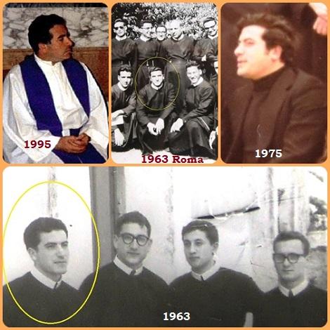 Le stagioni della vita di P. Giovanni Vucudomini; studente e giovane sacerdote.