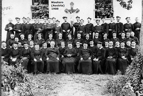 Il redentorista P. Aloys Klameth (1878-1920) della Provincia di Vienna è in questa Comunità di Santa Barbara a Mautern (Austria) - Padri: Rosler, Leitrez, Hollzy, Reufs, Raus, Hamerke, Klameth, Holler, Kirfce, Chmiel, With, Lidermayer, Swarz, Nagll, Braunsberger, Springer, Méstiàn, Peter, Celachnik, Tomicek.