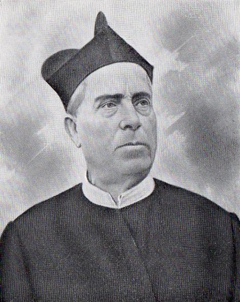Il redentorista P. Giovanni Battista Ghibellini (1835-1922) della Provincia di Roma in Italia.