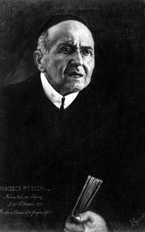 Il redentorista P. Francesco Pitocchi (1852-1922) della Provincia di Roma in Italia.