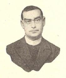 Il redentorista P. Gerardo Adriano Simón Argañín , C.Ss.R. 1888-1924 della Provincia di Madrid in Spagna.