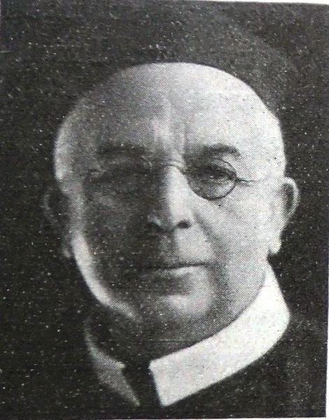Il redentorista P. William Gorman, C.Ss.R. 1863-1925 della Provincia di Londra in Regno Unito.