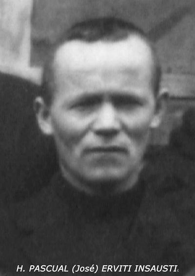 Il redentorista Fratello José (Pascoal) Erviti Insausti, C.Ss.R. 1902-1936 – Spagna (Provincia di Madrid) ucciso durante la guerra civile.