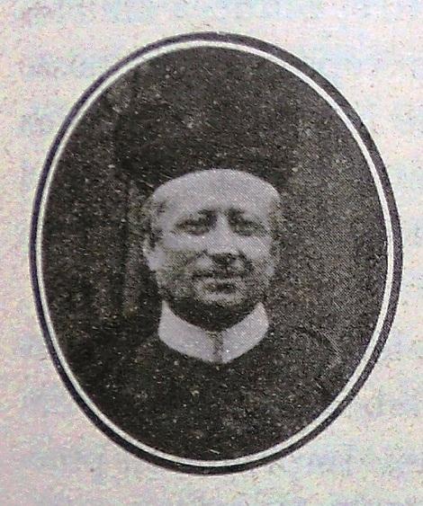 Il redentorista P. Carolus Mixa, C.Ss.R. 1872-1925 della Provincia di Praga in Repubblica Ceca.