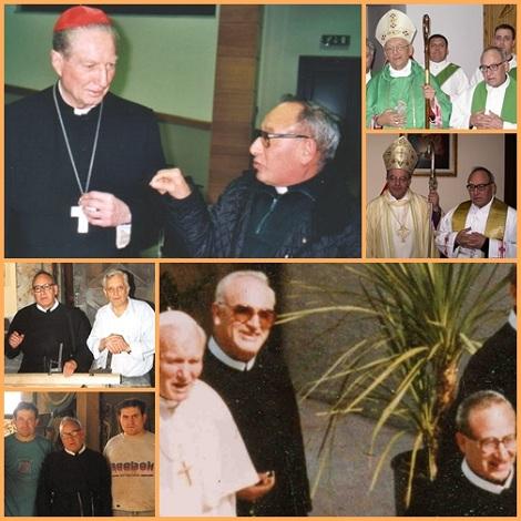 P. Mosè sapeva trattare amabilmente con tutti (col cardinale Martini a Roma; con Giovanni Paolo II a Messina); con vescovi e umili lavoratori.