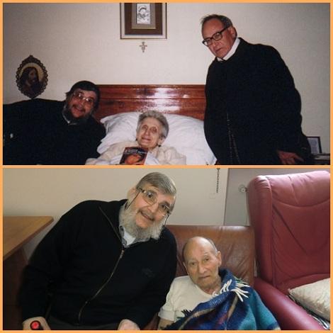 Padre Mosè è stato sempre attento agli ammalati che visitava e consolava amabilmente. Ed anche lui ha avuto una stagione di lunga sofferenza.