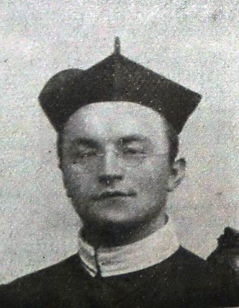 Il redentorista P. Frans Severens, C.Ss.R. 1862-1925 della Provincia di Amsterdam in Olanda.