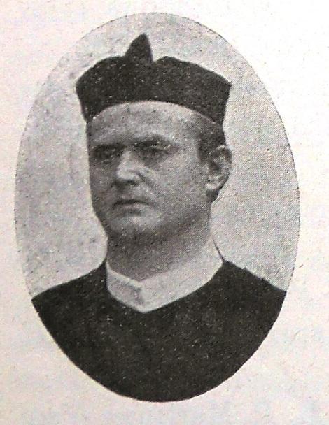 Il redentorista P. Alois Uhl, C.Ss.R. 1862-1924 della Provincia di Monaco in Germania.