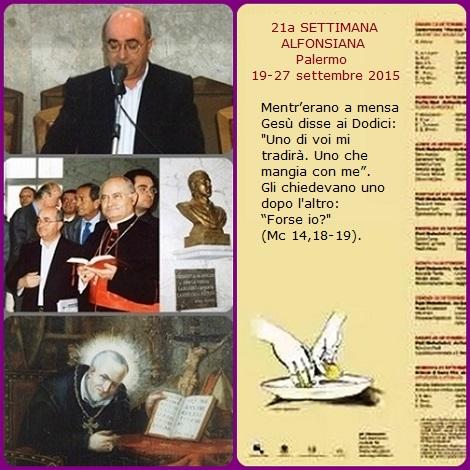 P. Nino Fasullo, animatore delle Settimane Alfonsiane.