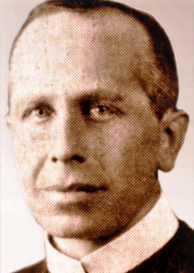 Il redentorista P. Albert Delforge, C.Ss.R. 1885-1935, Belgio, Provincia Flandrica, nella Vice-Provincia Ruteniense in Canada, rimasto vittima di un attentato rivolto al suo superiore: egli si frappose e fu colpito alla testa.