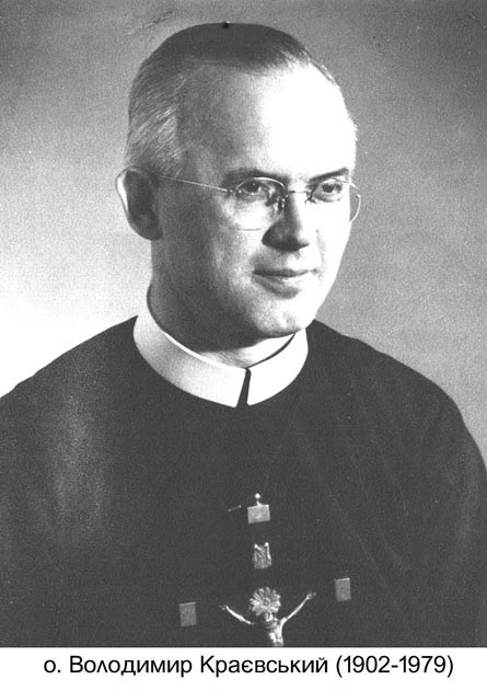 Il redentorista P. Wladimir Krayewskyj, C.Ss.R. 1902-1979 – Ucraina, ViceProvincia Ruteniense in Canada.