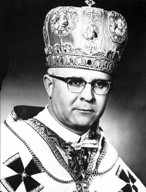 Il redentorista Mons. Maxim Hermaniuk, C.Ss.R. 1911-1996 Polonia /Canada, ViceProvincia Ruteniense in Canada. Fu arcivescovo metropolita di Winnipeg (Canada).