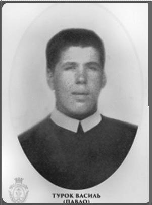 Il redentorista P. Basyl Turok, C.Ss.R. 1901-1987 – Ucraina / Australia.