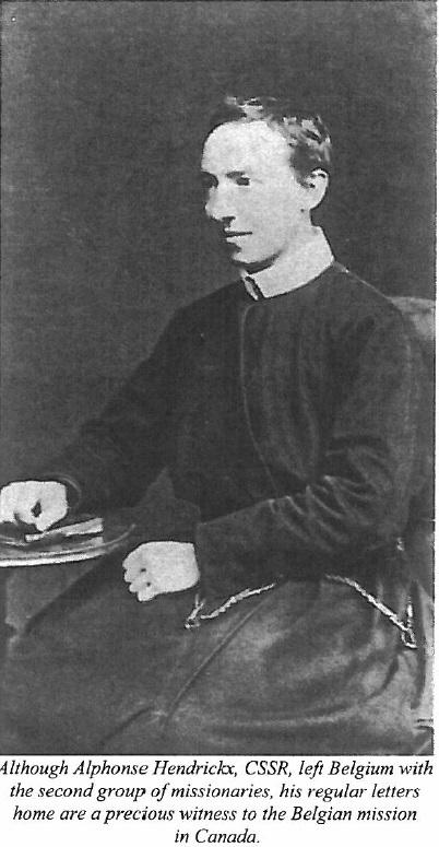 Il redentorista P. Alfons Hendrickx, C.Ss.R. 1850-1926, della Provincia Flandrica in Belgio.