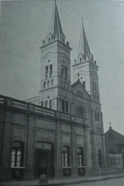 La foto mostra la chiesa di S. Alfonso in Salta (Argentina), dove il redentorista P. Guillermo Steimel, C.Ss.R. 1889-1950, nato in Borussia (Germania) della Provincia di Colonia, fu missionario. Morì durante una missione a 51 anni.