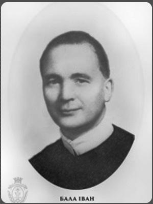 Il redentorista P. Ivan Bala, C.Ss.R. 1894-1970 – Cecoslovacchia, della Vice Provincia Flandrica in Belgio, missionario in Canada. Fu il primo Superiore Vice-Provinciale degli ucraini del Canada.