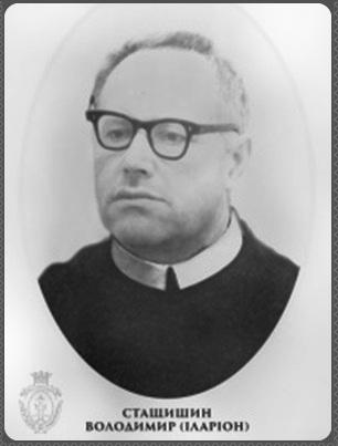 Il redentorista Fratello Volodymyr Staszczyszyn, C.Ss.R. 1923-1994 – Ucraina, della Vice Provincia Ruteniense in Galizia.
