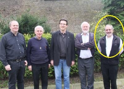 P. Guido Moons  nel Consiglio Provinciale della Provincia San Clemente = P. Jürgen Langer, P. Hafmans Jan, P. Johannes Romelt (Provincial), P. Henk Erinkveld (Vicaire).