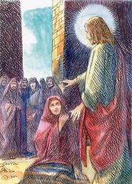 Chi di voi è senza peccato, getti per primo la pietra contro di lei.