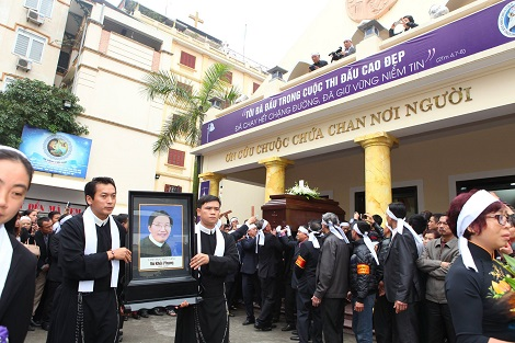 Matthew Vu Khoi Phung funeral