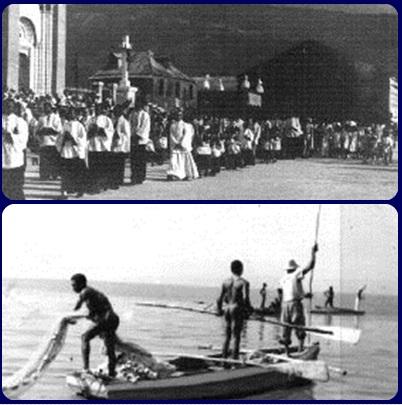 Nessuna foto del redentorista P. Karel Ampe, C.Ss.R. 1928-2012 – Belgio, Provincia Flandrica, poi di S. Clemente. Dal 1954 al 1990 è stato missionario in Congo, particolarmente nella diocesi di Matadi. La foto mostra alcuni momenti di missione in Congo.