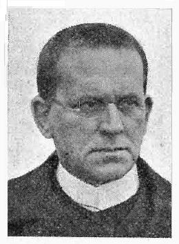 Il redentorista P. Johann Hofer C.Ss.R. 1879-1939  Austria, della Provincia di Vienna. Nativo nel Sud Tirolo.