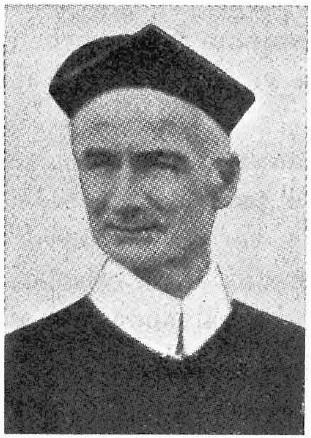 Il redentorista P. Francis Hall C.Ss.R. 1888-1937  Regno Unito, della Provincia di Amsterdam.