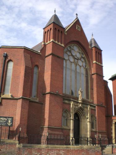 Nessuna immagine del redentorista P. Patrick Kenny, C.Ss.R. 1906-1984 – Regno Unito, Provincia di Londra. Morì nel 1984 a Sunderland, di cui la foto mostra la chiesa redentorista di St Benett.