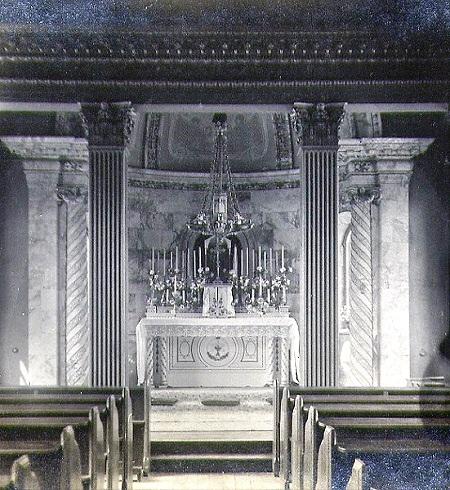 Nessuna immagine del redentorista P. John Lawrence, 1885-1970– Irlanda, Provincia di Londra. La foto mostra la Cappella della Casa di Ritiri a Heathfield South Africa, dove il P. Lawrence è stato alcuni anni.