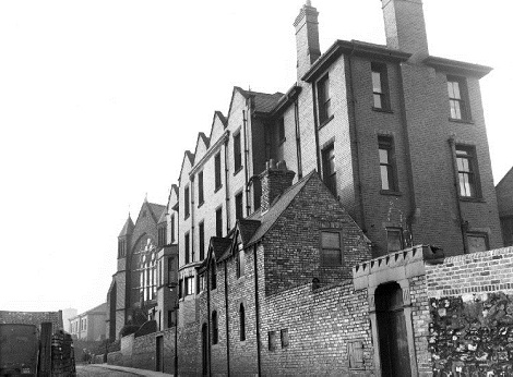 Nessuna immagine del redentorista Fratello  James (Luke) McDermid, C.Ss.R. 1903-1975 – Regno Unito, Provincia di Londra. - Lla foto mostra l'esterno del Convento redentorista. di Sunderland, dove morì.