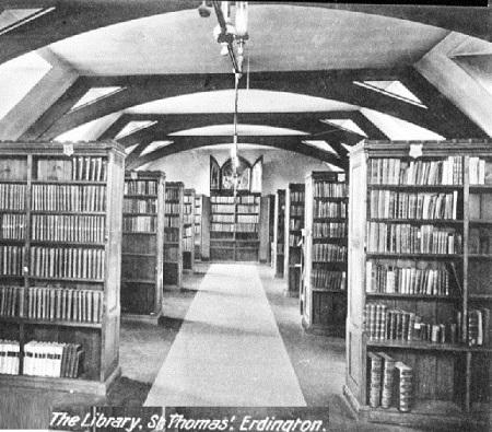 Nessuna immagine del redentorista P. Charles McPherson, 1906-1966 – Regno Unito, Provincia di Londra. Era membro della Comunità Erdington (nella foto: la biblioteca della Casa di Erdington)