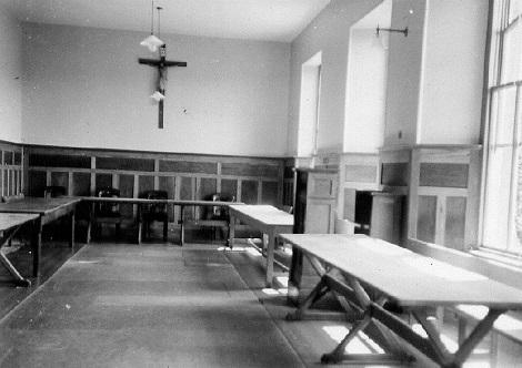 Nessuna immagine del redentorista P. Thomas Beda Wrangham, C.Ss.R. 1914-1979 – Regno Unito, Provincia di Londra. (nella foto: il refettorio della Comunità di Perth a cui apparteneva).