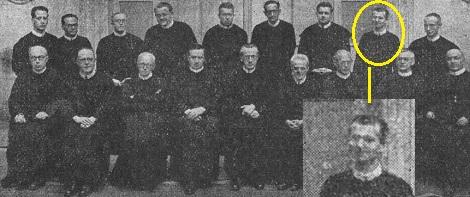Il redentorista P. Philip Hoffmann C.Ss.R. 1904-1948  USA, della Provincia di Baltimora.  Nell'aprile 1948 organizzò a Roma il Congresso degli storici redentoristi (foto).
