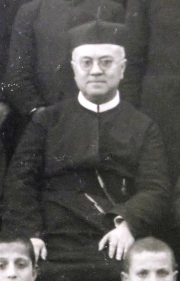 Il redentorista P. Luigi Nobili C.Ss.R. 1880-1946 Italia, della Provincia di Roma.. Fu Visitatore di Sicilia. (foto del 1831).